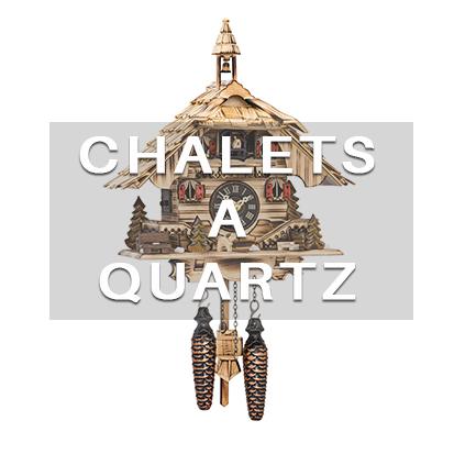 chalets à quartz hover votre horloge