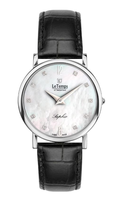 Montre quartz LT1085.05BL01 - LE TEMPS OF SWITZERLAND